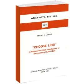 Choose Life!