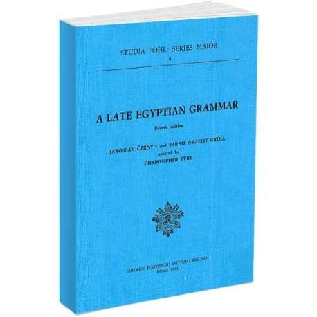 A Late Egyptian Grammar
