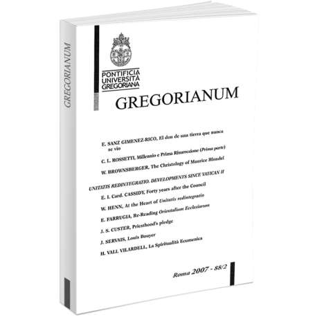 Gregorianum 2007 - Fasc. 2