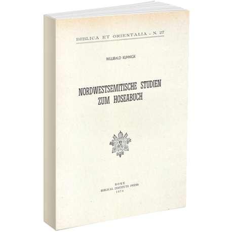Nordwesttsemitische Studien zum Hoseabuch