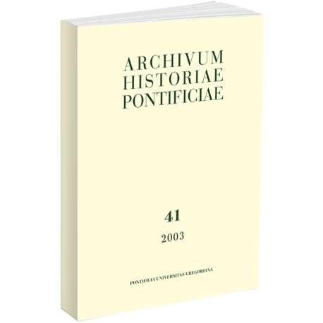 Archivum Historiae Pontificiae 2008/46