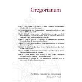 11 - RIASSUNTI - ABSTRACTS - GREGORIANUM 2017 3 (98)
