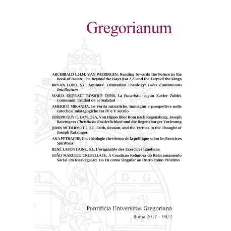 07 - PETRACHE, ANA - UNE THEOLOGIE CHRETIENNE DE LA POLITIQUE SELON LES EXERCICES SPIRITUELS - P. 341