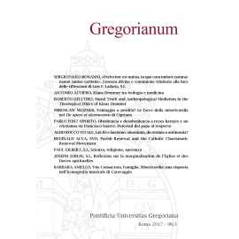 12 - RIASSUNTI - ABSTRACTS - GREGORIANUM 2017 1 (98)