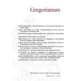 12 - RIASSUNTI - ABSTRACTS - GREGORIANUM 2017 4 (98)