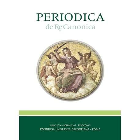 04 - Zambon, Adolfo - Il motu proprio Mitis Iudex. - P. 417