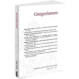Gregorianum 2018 - Fasc. 1