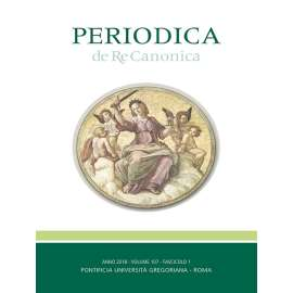 "01 - Coccopalmerio, Francesco, La ""communicatio in sacris"" - P. 1"