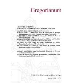 Gregorianum 2016 - Fasc. 1
