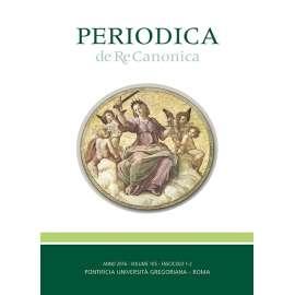 Periodica de Re Canonica 2016 - Fasc. 1-2