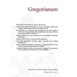 10 - RIASSUNTI - ABSTRACTS - GREGORIANUM 2018 2 (99)