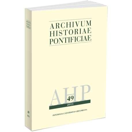 Archivum Historiae Pontificiae 2011/49