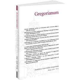 Gregorianum 2018 - Fasc. 3