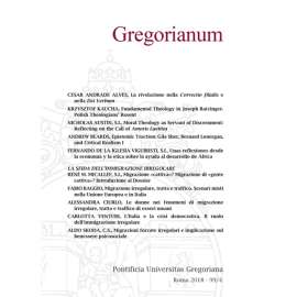 Gregorianum 2018 - Fasc. 4