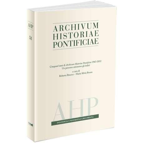Archivum Historiae Pontificiae 2013/51