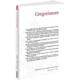 Gregorianum 2019 - Fasc. 3
