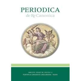 Periodica de Re Canonica 2019 - Fasc. 1-2