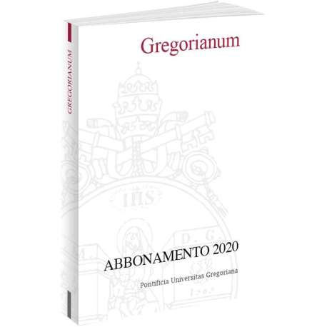 Gregorianum abbonamento 2020 cartaceo + Pdf