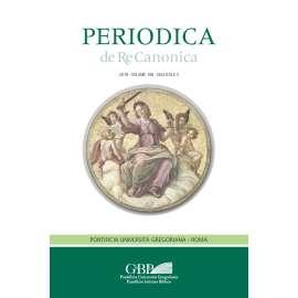 01 - Interlandi Roberto - L'estensione dell'istituto della supplenza alle facoltà ministeriali (can. 144§2) pp. 343-380