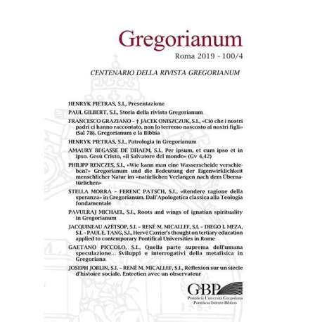 03 - Henryk Pietras - Patrologia in Gregorianum