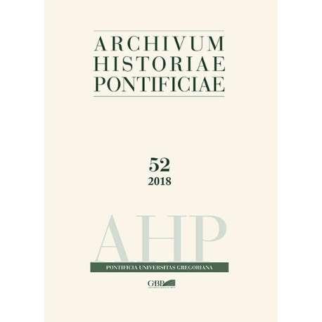 Archivum Historiae Pontificiae 52/2018 - Solo PDF