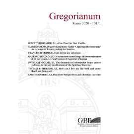 Gregorianum 2020 - Fasc. 1