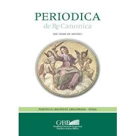 Periodica de Re Canonica 2020 - Fasc. 1