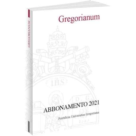 Gregorianum Abbonamento 2021- Formato PDF