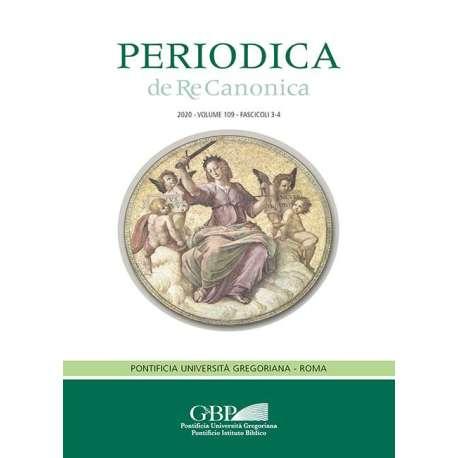 Periodica de Re Canonica 2020 - Fasc. 3-4