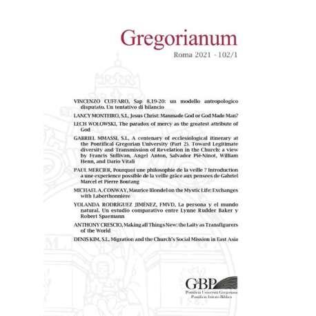 Gregorianum 2021 - Fasc. 1