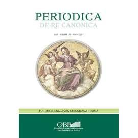 Periodica de Re Canonica 2021 - Fasc. 1