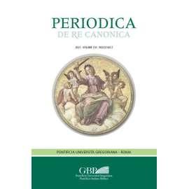 Periodica de Re Canonica 2021 - Fasc. 2