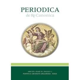 Periodica de Re Canonica 2016 - Fasc. 1