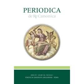 Periodica de Re Canonica 2017 - Fasc. 1