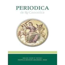 Periodica de Re Canonica 2018 - Fasc. 1