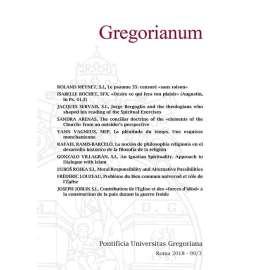Gregorianum 2018 Fasc. 3