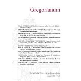 Gregorianum 2018 Fasc. 4