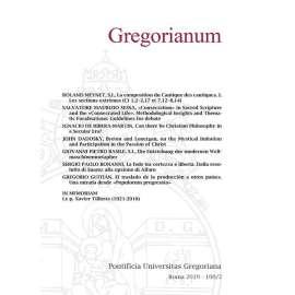 Gregorianum 2019 Fasc. 2