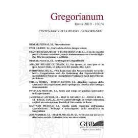 Gregorianum 2019 Fasc. 4