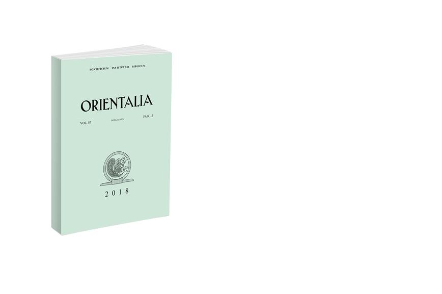 Orientalia 2018 - Fasc. 2 (87)