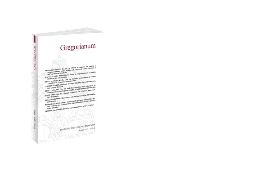 Gregorianum 2019 - Fasc. 1 (100)