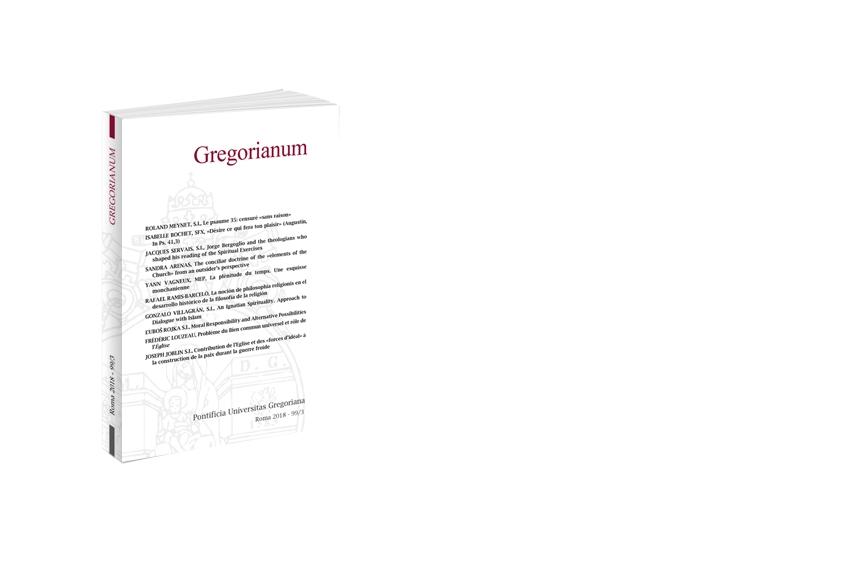 Gregorianum 2018 - Fasc. 3 (99)