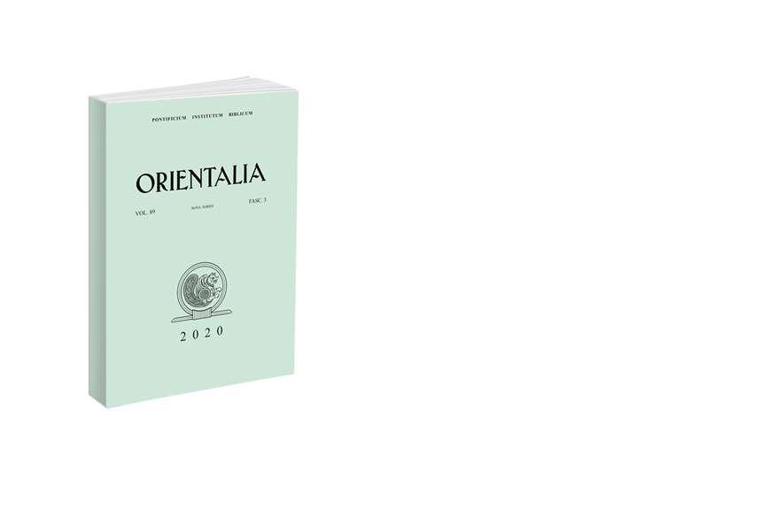 Orientalia 2020 - Fasc. 3 (89)