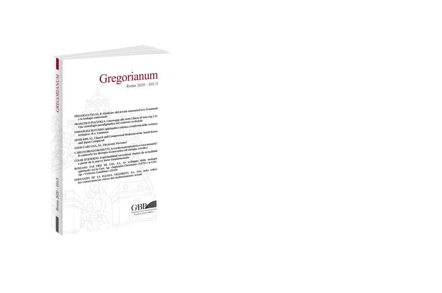 Gregorianum 2020 - Fasc. 3 (101)