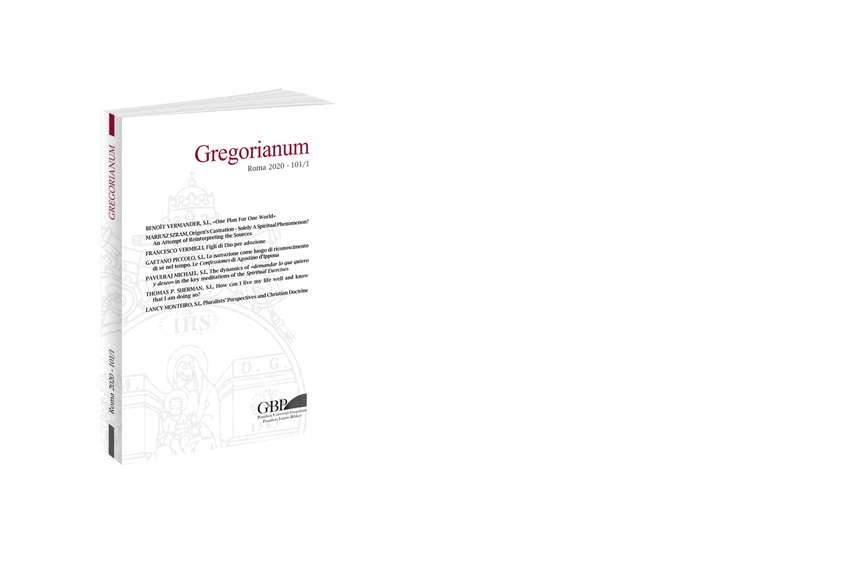 Gregorianum 2020 - Fasc. 1 (101)