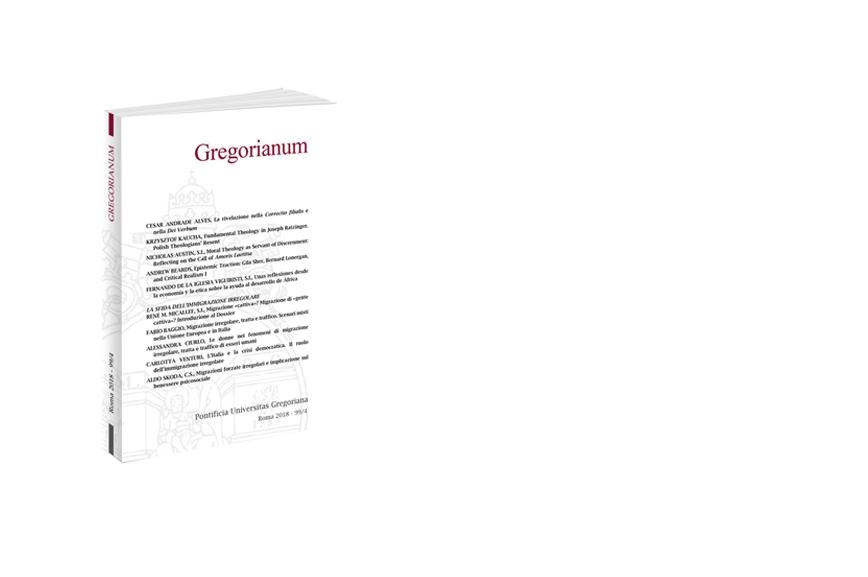 Gregorianum 2018 - Fasc. 4 (99)