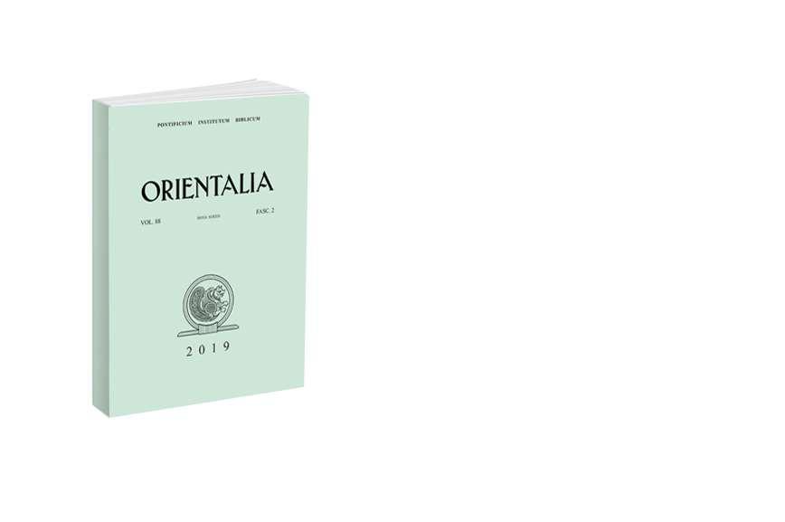 Orientalia 2019 - Fasc. 2 (88)